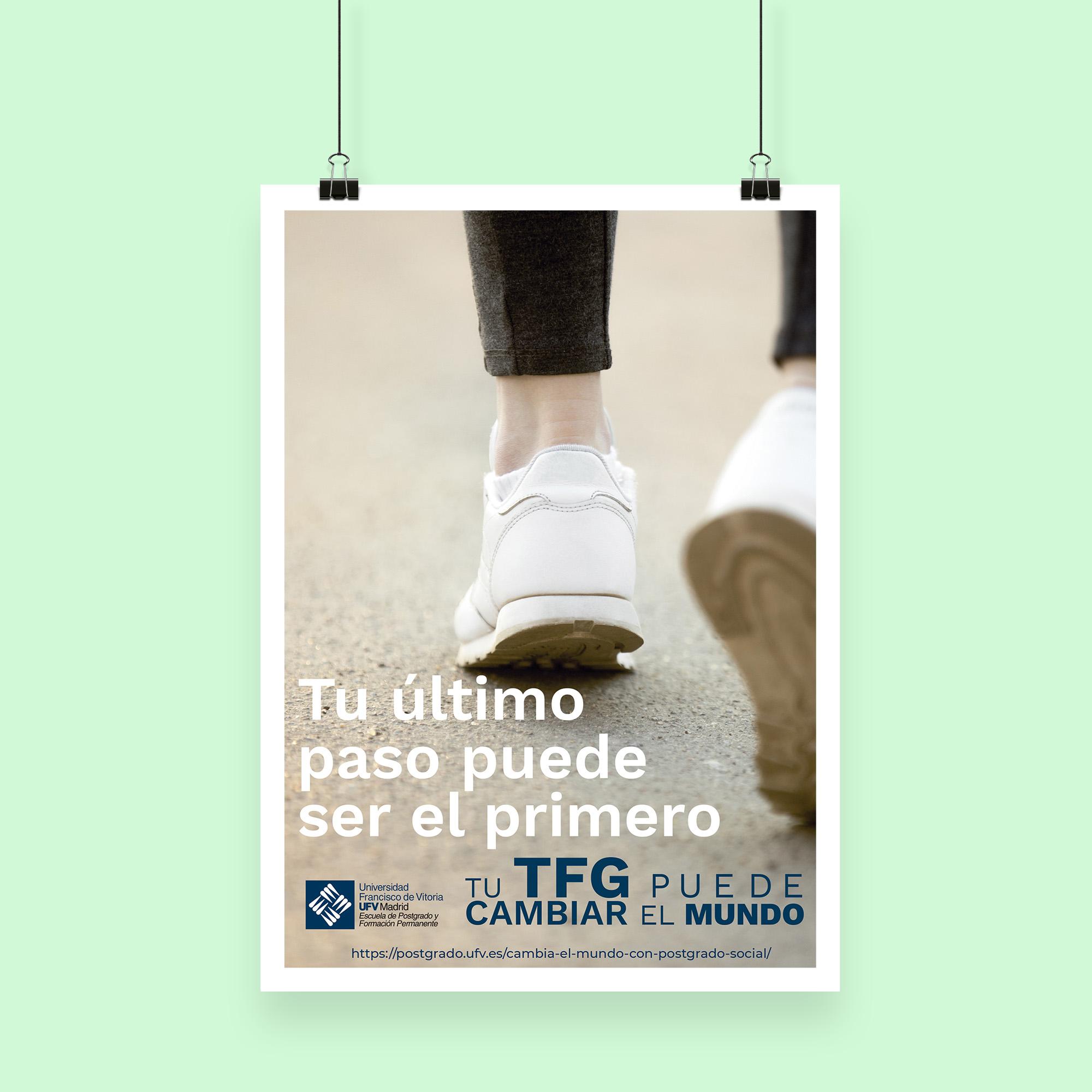 Diseño cartel UFV